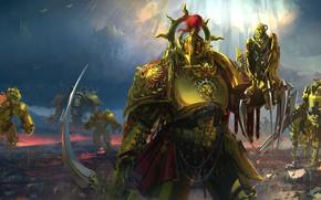 Picture fantasy, Warhammer 40000, knights