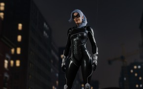 Picture Sony, Marvel, suit, Spider-Man, Exclusive, PS4, Black Cat, Felicia Hardy, Insomniac Games