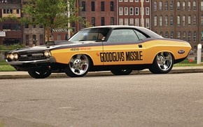Picture Dodge Challenger, Muscle car, Vehicle, Hemi 426
