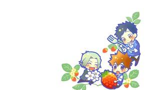Picture berries, background, minimalism, kids, Katekyo Hitman Reborn, Teacher mafia Reborn
