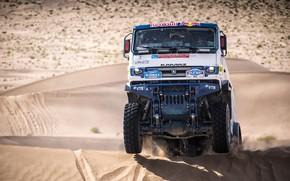 Picture Sand, Auto, Wheel, Sport, Machine, Truck, Race, Master, Russia, Race, Russia, Kamaz, Rally, KAMAZ-master, Rally, …