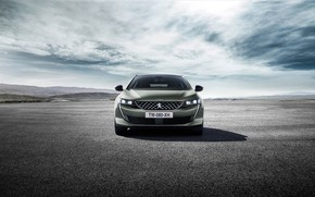Picture Peugeot, front view, 2018, universal, 508, SW GT