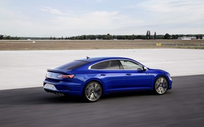 Picture blue, Volkswagen, WFP, liftback, 2020, Arteon, Arteon R