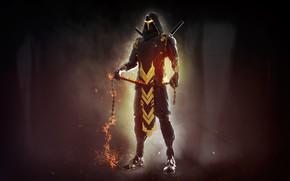 Picture Mortal Kombat, Scorpion, Characters, Science Fiction, Mendez Cakson, Comic Art, by Mendez Cakson