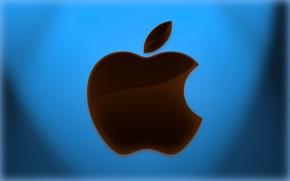 Picture apple, logo, emblem