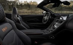 Picture Aston Martin, DBS, Superleggera, convertible, salon, Volante, 2019, 5.2 L., V12 Twin-Turbo, 715 HP