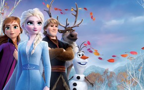 Picture characters, Cold heart 2, Frozen II