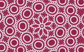 Picture pattern, round, stars, kaleidoscope
