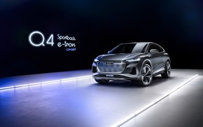 Picture Concept, Audi, e-tron, Sportback, 2020, Q4