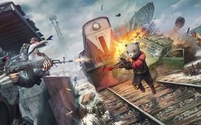 Picture the explosion, shootout, 2020, Season 7, PlayerUnknown's Battlegrounds, PUBG Corporation