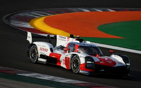 Picture Toyota, WEC, 4WD, on the track, 2021, Gazoo Racing, GR010 Hybrid, 3.5 л., V6 twin …