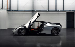 Picture coupe, the door, side view, V12, GMA, T.50, Gordon Murray Automotive, Type 50