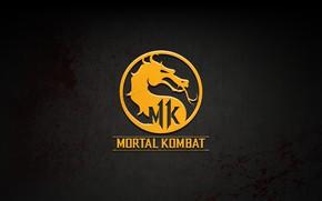 Picture The game, Logo, Logo, Mortal Kombat, Mortal Kombat, Mortal Kombat 11, Mortal Kombat XI