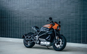 Picture Harley Davidson, LiveWire, Orange Fuse