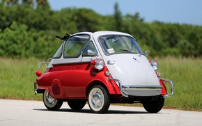 Picture BMW, Classic, 1957, Classic car, BMW Isetta 300 Bubble Window, Isetta