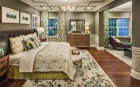 Picture room, interior, bedroom, villa in Duncan