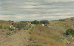 Picture landscape, picture, William Chase, William Merritt Chase, The Old Sand Road