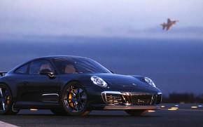 Picture rendering, 911, Porsche, 2018, CGI, Carrera T, Gustavo Coutinho Alves