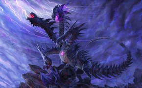 Picture rock, dragons, Hydra