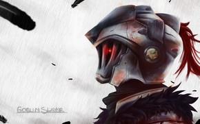 Picture rain, armor, knight, Goblin Slayer