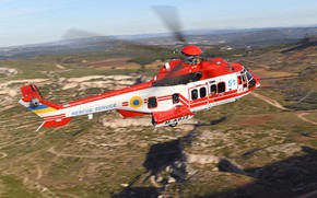 Picture Helicopter, Ukraine, Super Puma, Airbus Helicopters, Ministry of emergency situations of Ukraine, H225, Airbus Helicopters …