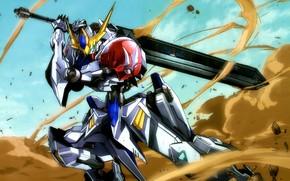 Picture robot, dust, Mobile Suit Gundam