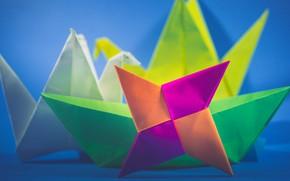 Picture macro, paper, origami