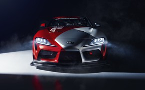 Picture machine, light, coupe, concept, sports car, Toyota, GT4, GR Above
