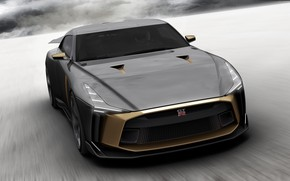 Picture Concept, Nissan, front view, 2018, ItalDesign, GT-R50
