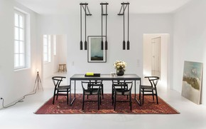 Picture room, interior, dining room, Apartment MM