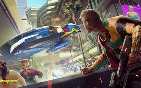 Picture future, cyberpunk, rpg, video game, video game, night city, CD Projekt RED, Cyberpunk 2077, Cyberpunk, …