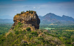 Picture Sri Lanka, Sigiriya, Pidurangala, Matale District