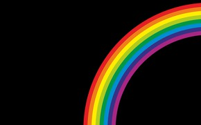Picture background, color, rainbow