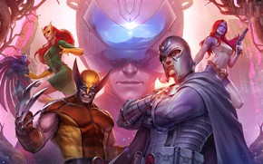 Picture heroes, Mystic, super heroes, Marvel Comics, Marvel: Future Fight