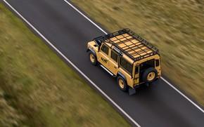 Picture SUV, Land Rover, Defender, on the road, V8, 5.0 L., 2021, Works V8 Trophy, 405 …
