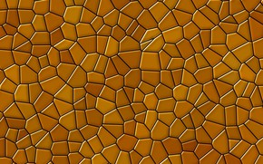 Picture mosaic, pattern, structure, texture, polyhedra