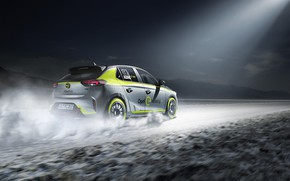 Picture Opel, Opel, Corsa, 2020, electric rally car, Corsa, rally electric car, Opel Corsa-e Rally