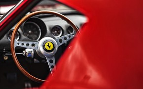 Picture Auto, Retro, Machine, Ferrari, Logo, Ferrari, The wheel, GTO, 250, Ferrari 250 GTO, Gran Turismo, …
