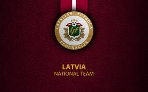 Picture wallpaper, sport, logo, football, Latvia, National team
