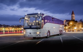 Picture mercedes, bus, coach, tourismo