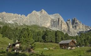 Picture mountains, Germany, Alps, The rose garden