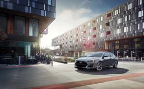Picture Hyundai, hatchback, 2018, Veloster