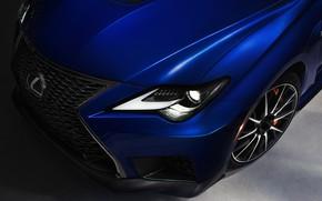 Picture headlight, Lexus, RC F, 2019