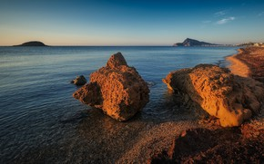Picture sea, Coast, Spain