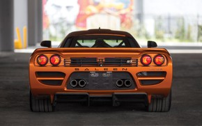 Picture Saleen, supercar, rear view, 2005, Twin Turbo, Saleen S7