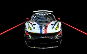 Picture Auto, Machine, Car, Render, Supercar, Supercar, FIA, Ferrari 488, Racecar, Transport & Vehicles, Benoit Fraylon, …