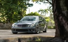 Picture AMG, Mercedes - Benz, E55, S211, WAGON