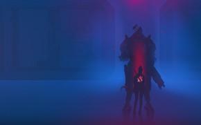 Picture The game, Background, Art, Fan Art, Cyberpunk 2077, Cyberpunk
