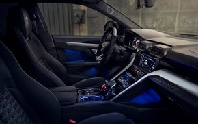 Picture Lamborghini, salon, crossover, Urus, Novitec, 2019