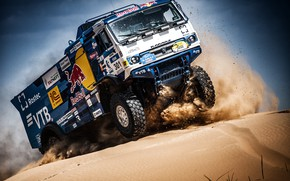 Picture Sand, Auto, Sport, Machine, Truck, Race, Master, Russia, Race, Russia, Kamaz, Rally, KAMAZ-master, Rally, Truck, …